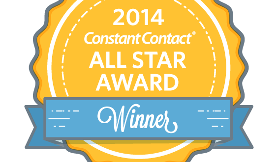 2014 Constant Contact All Star Award!